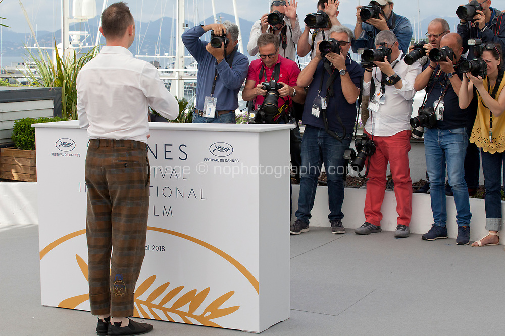 Actor Roma Zver at the Leto (Summer) film photo call at the 71st Cannes Film Festival, Thursday 10th May 2018, Cannes, France. Photo credit: Doreen Kennedy