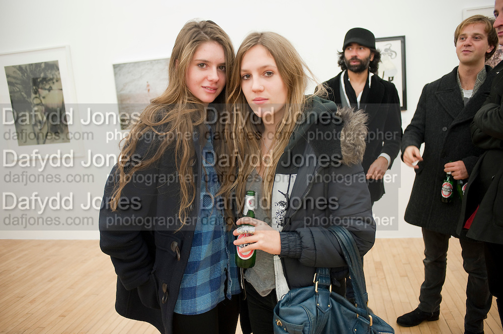 RUBY BOGLIONE; VIOLET HESKETH; , Hoxton Sq projects auction in aid of Shelter. .- Hoxton sq. Gallery. 24 November 2010. . -DO NOT ARCHIVE-© Copyright Photograph by Dafydd Jones. 248 Clapham Rd. London SW9 0PZ. Tel 0207 820 0771. www.dafjones.com.