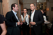 SIMON DAVIS; GOSIA TURNBULL; STEFAN TURNBULL, Launch of the Orange restaurant, 37 Pimlico Road, SW1W 8NE,  Thursday 29 October 2009