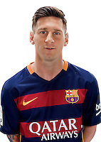 Spain - Liga BBVA 2015-2016 / <br /> ( Fc Barcelona ) - <br /> Lionel Messi