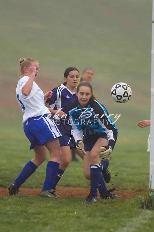 MCHS Varsity Soccer vs Rappahannock on Friday, April 22, 2005.  Madison won 5-0.