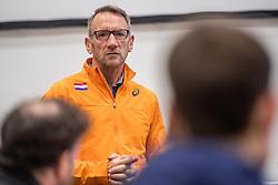 22-03-2017 NED: Teampresentatie EK Atletiek Indoor, Arnhem<br /> Ad Roskam tijdens de teampresentatie van het atletiek EK indoor op Papendal.