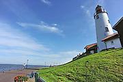 Nederalnd, Urk, 25-8-2011De historische vuurtoren op het vroegere eiland.Foto: Flip Franssen/Hollandse Hoogte