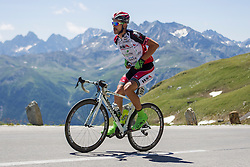 Jan Sokol (AUT) of WSA-Greenlife during the 166.8 km long 6th stage from Lienz to Kitzbuheler Horn at 67th Tour of Austria, on July 8, 2015, Austria. Photo by Urban Urbanc / Sportida