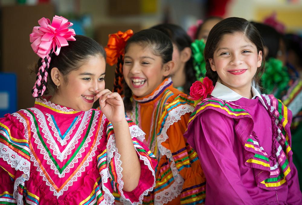 Hispanic Awareness celebration at Moreno Elementary School, October 4, 2013.