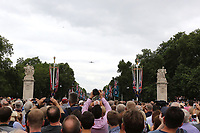 RAF100 Parade and Flypast, The Mall & Buckingham Palace, London, UK, 10 July 2018, Photo by Richard Goldschmidt, Royal Air Force Centenary parade and flypast of RAF aircraft over London.