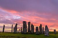 Callanish Standing Stones, Isle of Lewis, Schottland