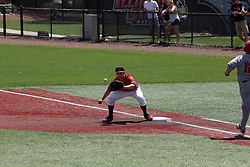 05 May 2018:  Jake McCaw during an NCAA Division I Baseball game between the Bradley Braves and the Illinois State Redbirds in Duffy Bass Field, Normal IL