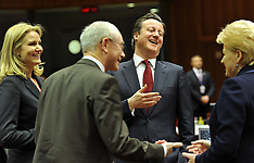MAR 15 2013 British Prime Minister David Cameron EU