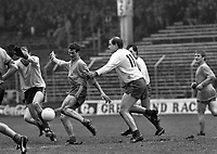St Finbarr's V Clann na nGeal in the All Ireland Club Finals in Croke Park, Dublin, circa March 1987 (Part of the Independent Newspapers Ireland/NLI Collection).