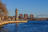 Lighthouse Park, Roosevelt Island, Manhattan, New York City, New York, USA