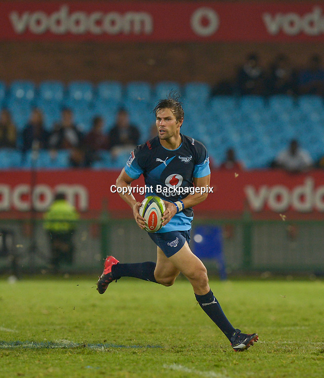 JJ Engelbrecht of the Bulls during the Super Rugby match between the Vodacom Bulls and the Force at the Loftus Versfeld on  21 March 2015<br /> &copy;BackpagePix