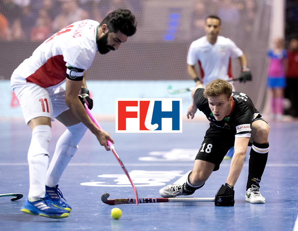 BERLIN - Indoor Hockey World Cup<br /> Semi-final 1: Germany - Iran<br /> foto: Ferdinand Meinke.<br /> WORLDSPORTPICS COPYRIGHT FRANK UIJLENBROEK