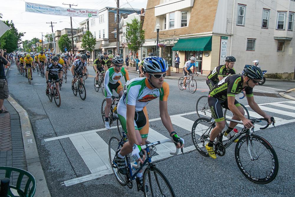 2013 Bob Riccio Memorial Tour De Pitman - 4,5 Race in Pitman, NJ on Saturday June 8, 2013. (photo / Mat Boyle)