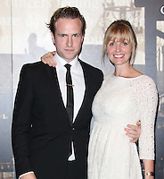 Rafe Spall; Elize du Toit Specsavers Crime Thriller Awards, Grosvenor House Hotel, London, UK. 07 October 2011. Contact: Rich@Piqtured.com +44(0)7941 079620 (Picture by Richard Goldschmidt)
