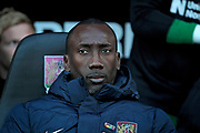 Northampton Town manager Jimmy Floyd Hasselbaink before the EFL Sky Bet League 1 match between Northampton Town and Bury at Sixfields Stadium, Northampton, England on 25 November 2017. Photo by Nigel Cole.