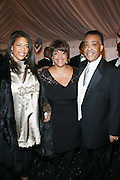 l to r: Alexa Christina Rice, Linda Johnson Rice and Rev. Al Sharpton at the The Radio One Inaugural Celebration 2009 Hennessey VIP Lounge Salute held at Lincoln Theater in Washington, DC on January 17, 2009..CATHY HUGHES, RADIO ONE FOUNDER AND CHAIRPERSON had a Hometown Inaugural Salute to President Barack Obama and Tom Joyner at the Lincoln Theater in Washington DC. Hennessy hosted celebrities and guests in a branded Hennessy lounge where Tatiana Ali interviewed celebrities about their feelings toward the Barack Obama Presidency. Celebrities in attendance included Jamie Foxx, Alonzo Morning, Eddie Levert, T. D. Jakes, Rev. Al Sharpton, Jackie Reid, Roland Martin, Dick Gregory, Raheem DaVaughn, Bow Bow, and more. Hennessy presented a commemorative Hennessy 44 Bottle which was signed by numerous celebrities which will be auctioned to create 4 four-year scholarships via the Thrugood Marshall College Fund...