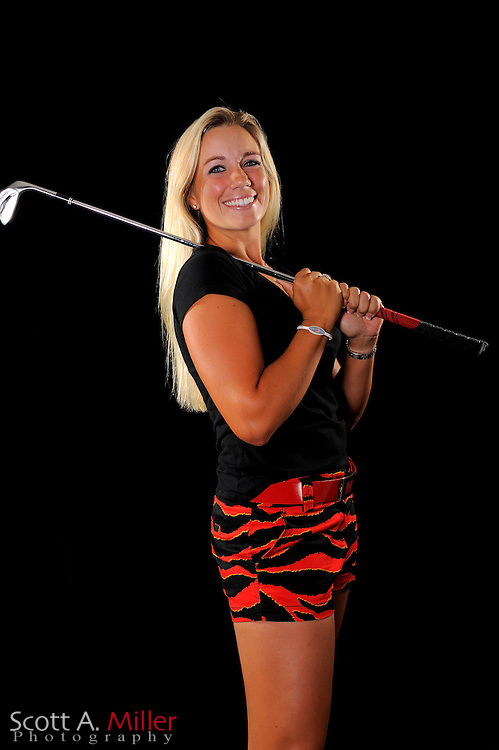 Brittany Johnston during a portrait shoot prior to the LPGA Futures Tour's Daytona Beach Invitational at LPGA International's Championship Courser on March 29, 2011 in Daytona Beach, Florida... ©2011 Scott A. Miller