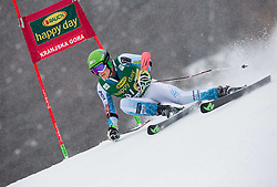 Brennan Rubie (USA) competes during 1st Run of 10th Men's Giant Slalom race of FIS Alpine Ski World Cup 55th Vitranc Cup 2016, on March 5, 2016 in Kranjska Gora, Slovenia. Photo by Vid Ponikvar / Sportida