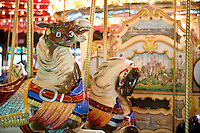 Carousel at Bushnell Park, Hartford, Connecticut.