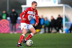 Julie Biesmans of Bristol City in action- Mandatory by-line: Nizaam Jones/JMP - 27/01/2019 - FOOTBALL - Stoke Gifford Stadium - Bristol, England - Bristol City Women v Yeovil Town Ladies- FA Women's Super League 1