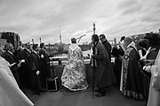 Bishop of Lambeth, The Blessing of the river, St. Magnus the Martyr and Southwark Cathedral join on London Bridge to Bless the river Thames. 13 January 2019