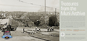 Construction of J Line Through Dolores Park | May 13, 1916  | Treasures from the Muni Archive at the SFO International Terminal