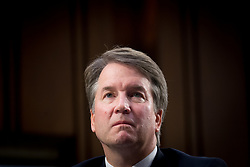 Sep 4, 2018 - FILE - Republicans in the US Senate, with the help of a lone Democrat, have voted to advance Brett Kavanaugh to a final floor vote, propelling the federal judge one step closer to the supreme court. Faced with multiple allegations of sexual misconduct, Kavanaugh cleared a key procedural hurdle in a narrow 51-49 vote that fell sharply along party lines. The outcome paved the way for a final vote as early as Saturday. Pictured: September 4, 2018 - Washington, District of Columbia, U.S. - U.S. Supreme Court nominee Judge Brett Kavanaugh appears before the Senate Judiciary Committee for his confirmation hearing on Capitol Hill. (Credit Image: © Erin Scott/ZUMA Wire) (Credit Image: © Erin Scott/ZUMA Wire/ZUMAPRESS.com)