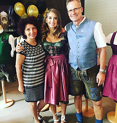 "Cathy Fischer releases a photo on Instagram with the following caption: ""Mit Mama und Papa in Berlin, die mich so lieb unterst\u00fctzt haben \ud83d\ude0d\u2764\ufe0f\ud83d\udc8b\u2665\ufe0f"". Photo Credit: Instagram *** No USA Distribution *** For Editorial Use Only *** Not to be Published in Books or Photo Books ***  Please note: Fees charged by the agency are for the agency's services only, and do not, nor are they intended to, convey to the user any ownership of Copyright or License in the material. The agency does not claim any ownership including but not limited to Copyright or License in the attached material. By publishing this material you expressly agree to indemnify and to hold the agency and its directors, shareholders and employees harmless from any loss, claims, damages, demands, expenses (including legal fees), or any causes of action or allegation against the agency arising out of or connected in any way with publication of the material."