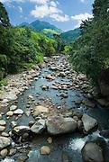 Clean river near Todo Village, Flores