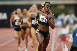 Olympic Trials Eugene 2012: women's 800 meters semifinal, Alysia Montano, wins, makes USA Olympic team