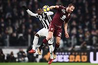 Kwadwo Asamoah Juventus, Lorenzo De Silvestri Torino <br /> Torino 03-01-2018 Allianz Stadium Calcio Coppa Italia Quarti di Finale Juventus - Torino foto Image Sport/Insidefoto