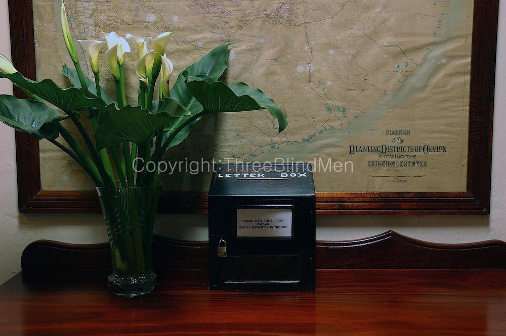 Letter Box at the The Hill Club in Nuwara Eliya.