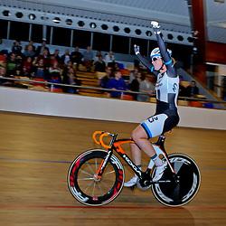 Puntenkoers vrouwen, onderdeel NK Omnium 2014, winst voor Kirsten Wild