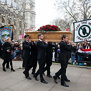 The funeral service of Tony Benn