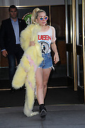 May 11, 2016 - New York, NY, USA - <br /> <br /> Lady Gaga leaving her apartment on May 11,  2016 in New York City. <br /> ©Exclusivepix Media