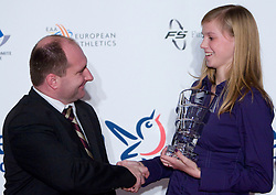Sara Strajnar at Best Slovenian athlete of the year ceremony, on November 15, 2008 in Hotel Lev, Ljubljana, Slovenia. (Photo by Vid Ponikvar / Sportida)