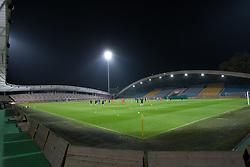 Stadium during official training session of Slovenian National football team before World Cup Qualifications match against Cyprus on October 10, 2012 in Stadium Ljudski vrt, Maribor, Slovenia. (Photo By Gregor Krajncic / Sportida)