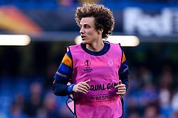 David Luiz of Chelsea - Mandatory by-line: Robbie Stephenson/JMP - 18/04/2019 - FOOTBALL - Stamford Bridge - London, England - Chelsea v Slavia Prague - UEFA Europa League Quarter Final 2nd Leg