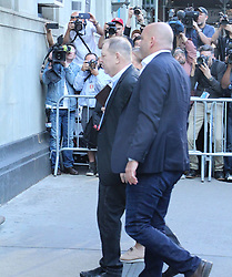 Producer Harvey Weinstein takes a perp walk to turn himself in. 25 May 2018 Pictured: Harvey Weinstein. Photo credit: KAT / MEGA TheMegaAgency.com +1 888 505 6342