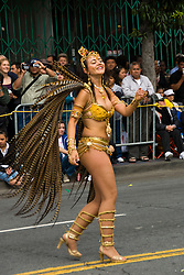 California: San Francisco Carnaval festival parade in the Mission District. Photo copyright Lee Foster. Photo # 30-casanf81347