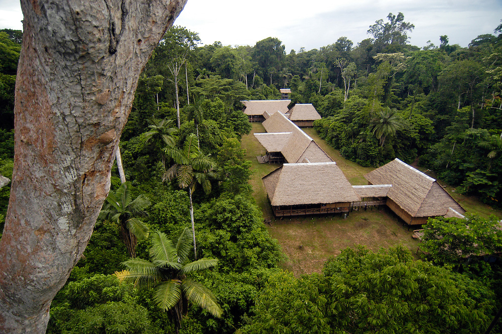 Rainforest Expeditions Tambopata Research Center deep in the Peruvian rainforest.