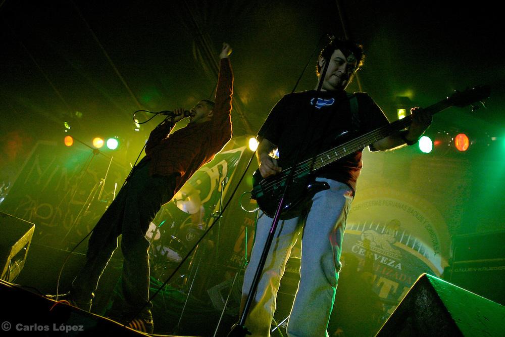 Banda de rock Rafo Raez