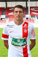 Alexandre CUVILLIER - 08.09.2014 - Photo officielle Brest - Ligue 2 2014/2015<br /> Photo : Maxime Kerriou / Icon Sport