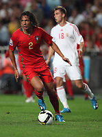 20091010: LISBON, PORTUGAL - Portugal vs Hungary: World Cup 2010 Qualifying Match. In picture: Bruno Alves. PHOTO: Carlos Rodrigues/CITYFILES