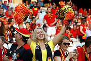 Belgium fan before the Euro 2016 match between Sweden and Belgium at Stade de Nice, Nice, France on 22 June 2016. Photo by Andy Walter.