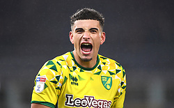 Norwich City's Ben Godfrey celebrates victory after the Sky Bet Championship match at Carrow Road, Norwich.