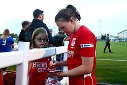 Bristol City Women players sign autographs - Mandatory by-line: Robbie Stephenson/JMP - 31/05/2017 - FOOTBALL - Stoke Gifford Stadium - Bristol, England - Bristol City Women v Chelsea Ladies - FA Women's Super League Spring Series