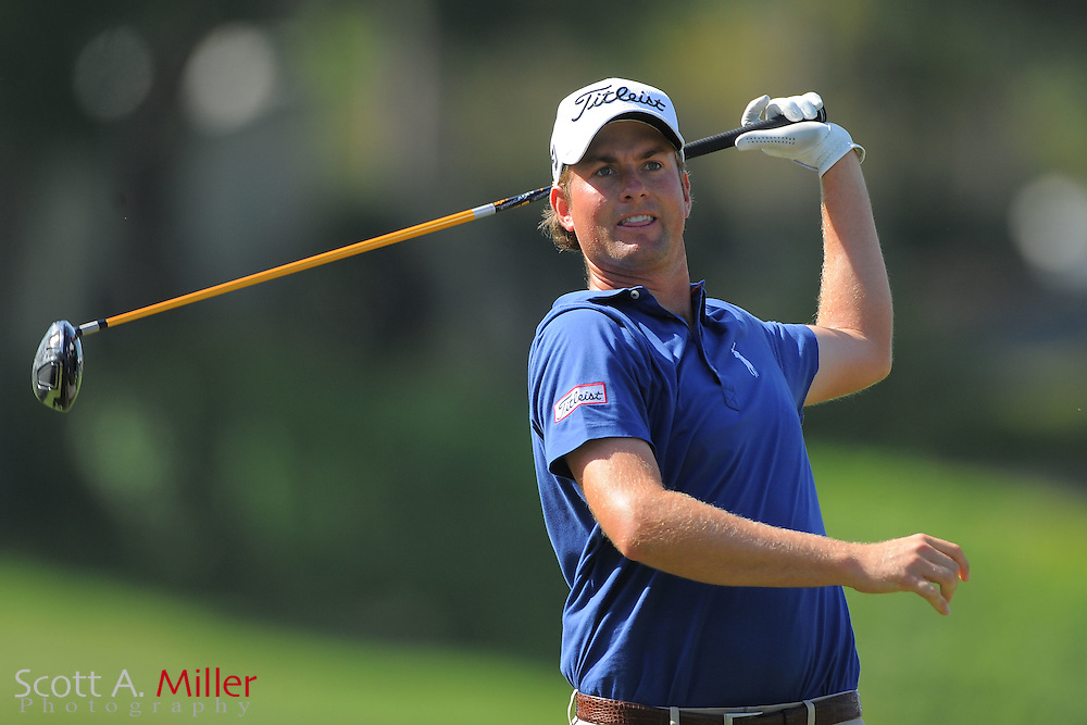 Webb Simpson during the first round of the Arnold Plamer Invitational at the Bay Hill Club and Lodge on March 22, 2012 in Orlando, Fla. ..©2012 Scott A. Miller.