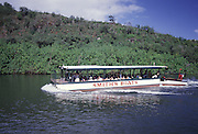 Smith's Boat, Wailua River, Kauai, Hawaii<br />